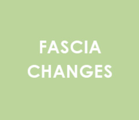 Fascia changes