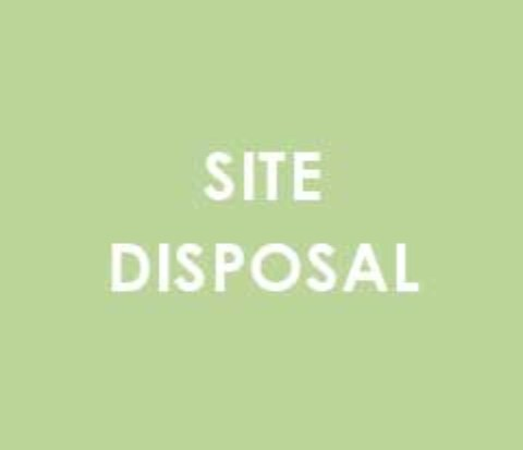 site disposal
