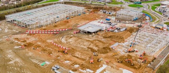 Colchester Stane Retail Park 5th March 2021