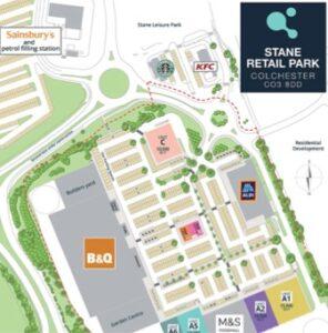 Colchester, Tollgate, Stane Retail Park (CO3 8DD)